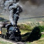 The Steam Engine winds it's way up the Sangre de Christos
