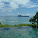 View from infinity pool