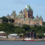 The most photographed hotel in the world : Château Frontenac