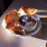 Starter thon/baguettes grillées