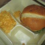 Burger & Mac and Cheese