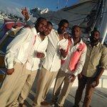 Groomsmen... brothers & friends on board!