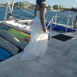 Amazing profile shot of the bride