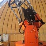 Telescope sous coupole
