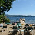 Lake & boat dock