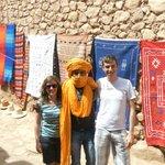 Kasbah route met Khalid