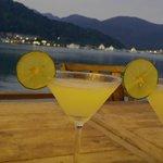 Dinner on the deck Nirvana Resort