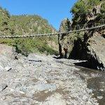 Brücke übern Bachbett