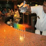 amazing shots at the bar