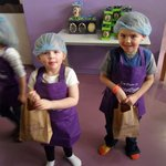 after making their chocolate