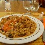 arroz con frutos de mar