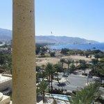 weids uitzicht vanuit ons balkon