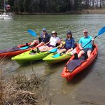 Awesome day on the water thanks to Shore Pedal and Paddle