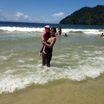 Beach with calm waves
