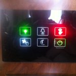 Light control system in the room