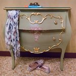 Lovely pieces of furniture in keeping with the feel of the rooms