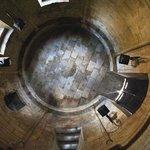 vue de l'oculus dans la voute