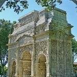 The imperial arch of Orange was built by General Marcus Agrippa during the reign of Augustus