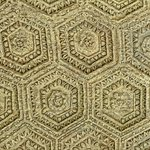 Ceiling relief depicting ornamental rosettes on the imperial arch in Orange, France