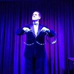 Magician Peter Morrison