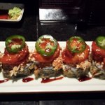 Chili shrimp roll