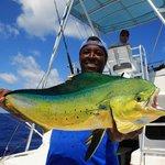 Mahi Mahi caught deep sea fishing