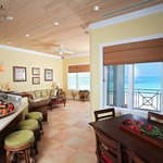 Luxury Villa Main living area interior