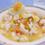 A local specialty - Conch Salad