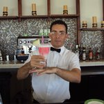 Yorky Bartender at Sunset Grill