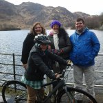 Walk and cycling around the loch.