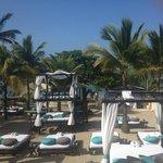 Beach side beds