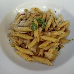 Olive Oil, Garlic and Chilis w/Penne