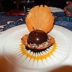 The Black Pearl dessert at Mama's