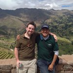 Me with our excellent tour guide at Pisac