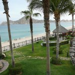 View from our terrace, overlooking Madano beach and Sea of Cortez