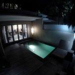 Private pool of Villa Frangipani