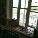 This was where I read books and drank my coffee in the morning (Common Area)