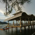 lumut water front