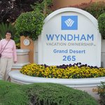 Entrance of Whyndham Resort- nicely decorated