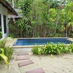 Pool villa 121