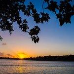 Sunset over Erakor Lagoon