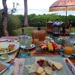 Frühstück im Oberoi