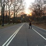 De patins no Central Park