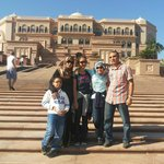 In front of Emirates Palace