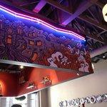 Mural at bar