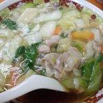 すがも園名物の広東麺