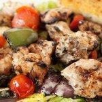 Chicken Kabob Salad