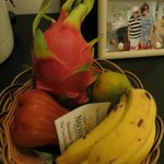 Complimentary fruit basket