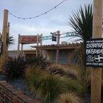 Surf bay restaurant Perranporth