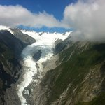 Franz Josef Glacier (from helicopter)